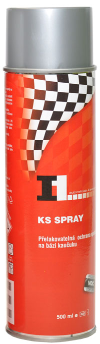 I1 KS ŠEDÁ SPRAY 500ml