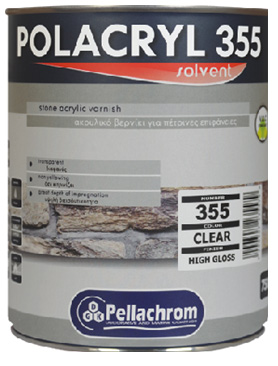 355 POLACRYL  VARNISH  2,5L